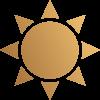 icon sun 2